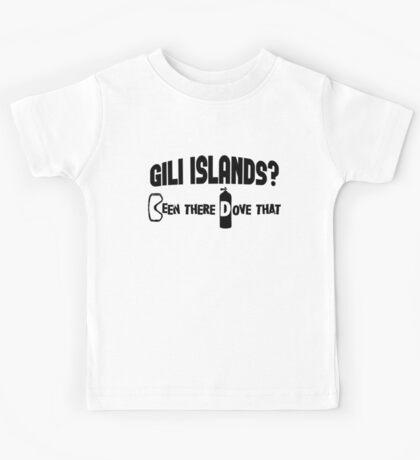 Gili Islands Scuba Diving Kids Tee