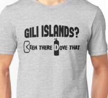 Gili Islands Scuba Diving Unisex T-Shirt