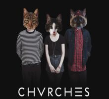 CHVRCHES The Meow-ther We Share by TeenageTragedy