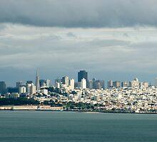 san francisco cloudy skyline by photoeverywhere
