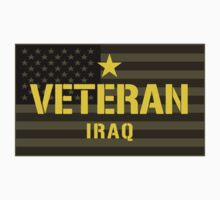 VETERAN - Iraq - I Served Sticker  by robotface