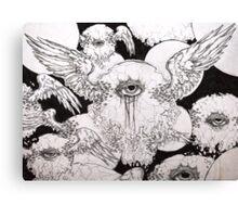 Anxiety Canvas Print