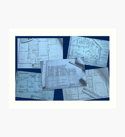 Blueprints Art Print
