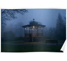 Buxton Bandstand Poster