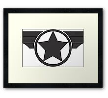 Captain America - Super Soldier Framed Print