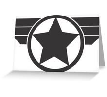 Captain America - Super Soldier Greeting Card