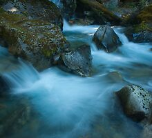 Blue flow by ZachKracht