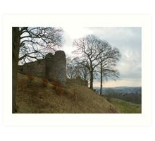 Ruins of Kendal Castle Art Print