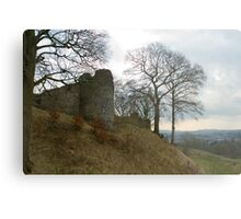 Ruins of Kendal Castle Metal Print