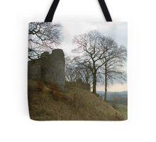 Ruins of Kendal Castle Tote Bag
