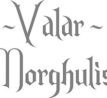 Game of Thrones - Valar Morghulis by wallyhawk