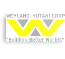 Aliens - Weyland-Yutani Metal Print