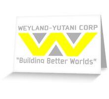 Aliens - Weyland-Yutani Greeting Card