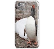 Gentoo Penguin ~ A cry for HELP ....... My world is melting iPhone Case/Skin