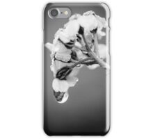 White drop iPhone Case/Skin