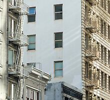 San Francisco fire escapes by photoeverywhere