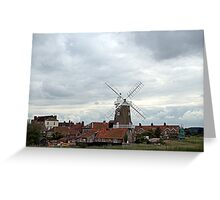 Cley, North Norfolk Coast. UK Greeting Card
