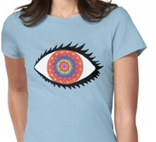 Beauty is in the eye of the beholder. Womens Fitted T-Shirt