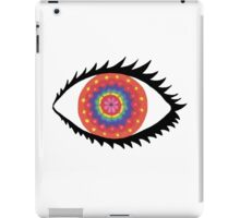 Beauty is in the eye of the beholder. iPad Case/Skin