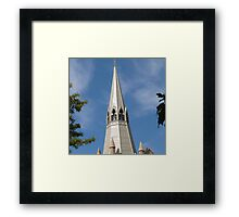 Beautiful Spire! St. Paul's Lutheran Church, Hahndorf, Adelaide Hills. Framed Print