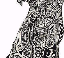 Zentangle Pug by smentcreations