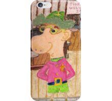 The Too Cool Sheriff Of pinkyjain Town iPhone Case/Skin