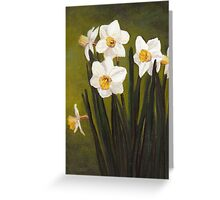 Narcissus Greeting Card