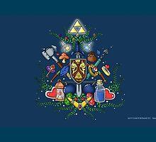 Legend of Zelda (cartoonish) by AlexisTheWizard