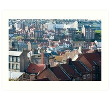 Whitby in North Yorkshire Art Print