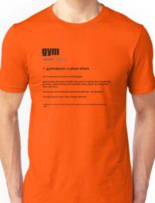 GYM Definition Unisex T-Shirt