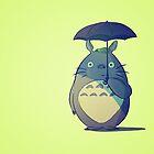 Totoro by taryndraws