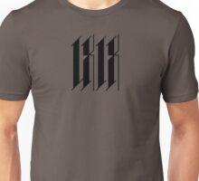 LXIX - Black Graphic Unisex T-Shirt