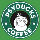 Psyducks Coffee by FlyNebula