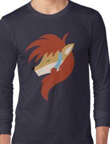 Wolf Nanaki - Simple Portrait Long Sleeve T-Shirt
