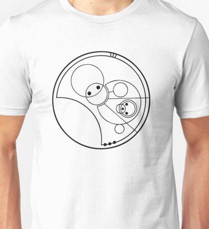 """Allons-y!"" Translated into Gallifreyan Unisex T-Shirt"