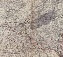 Civil War Maps 1151 Military map showing the marches of the United States forces under command of Maj Gen'l WT Sherman during the years 1863 1864 1865 Sticker