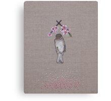 dead sparrah Canvas Print