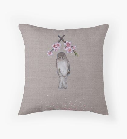 dead sparrah Throw Pillow