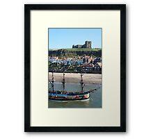 Bark Endeavour tourist cruise Framed Print