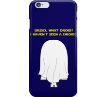 What Droid? iPhone Case/Skin