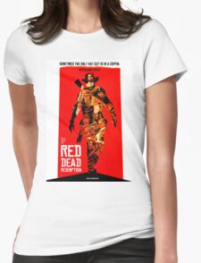 red dead redemption  Womens Fitted T-Shirt