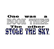 Book Thief/Sky Stealer Photographic Print