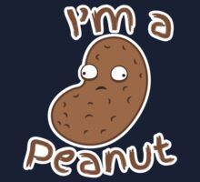 I'm a peanut with crazy eyes little crazy nut Baby Tee