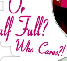 The Wine Is Gluten Free! Sticker
