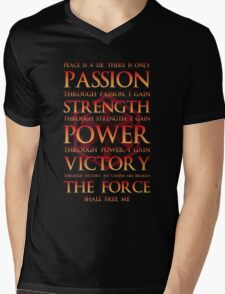 Sith Motto  Mens V-Neck T-Shirt