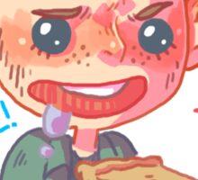 Food Love-Dean Sticker