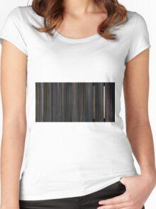 Scott Pilgrim VS the World (2010) Women's Fitted Scoop T-Shirt