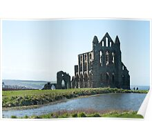 Ruins of Whitby Abbey Poster