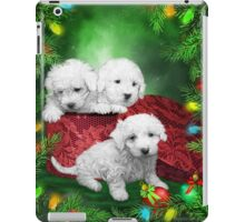 Puppies For Christmas iPad Case/Skin