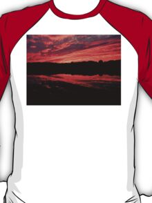 Extreme Sunset and Reflection T-Shirt